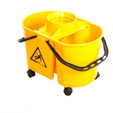 Balde gemini doble cubo con ruedas Italimpia